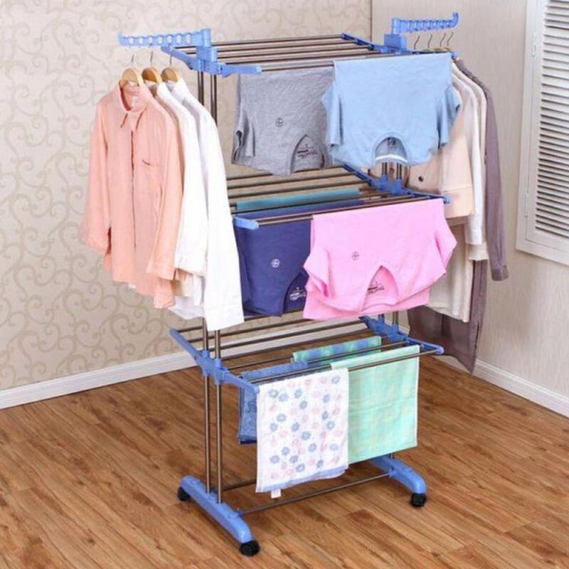 Сушилка для белья и одежды Three Layers Clothes Rack SKL11-261314