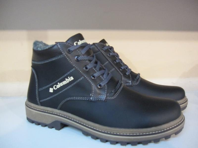 Ботинки мужские кожаные зимние - Фото 2