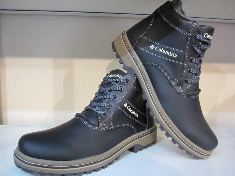 Ботинки мужские кожаные зимние - Фото 3