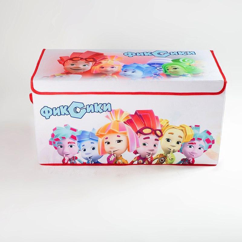 Коробка ящик для хранения игрушек и детских вещей Фиксики SKL1...