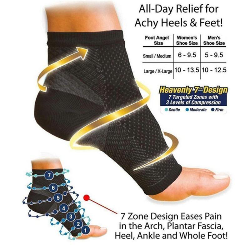 Компрессионные массажные носки.