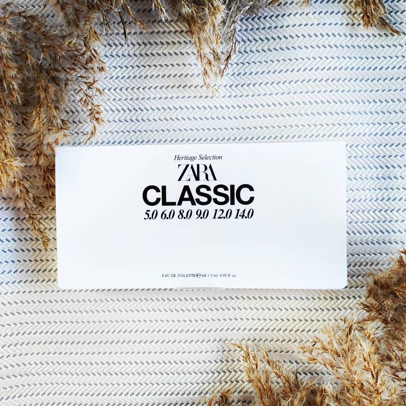 Zara man classic набір пробників