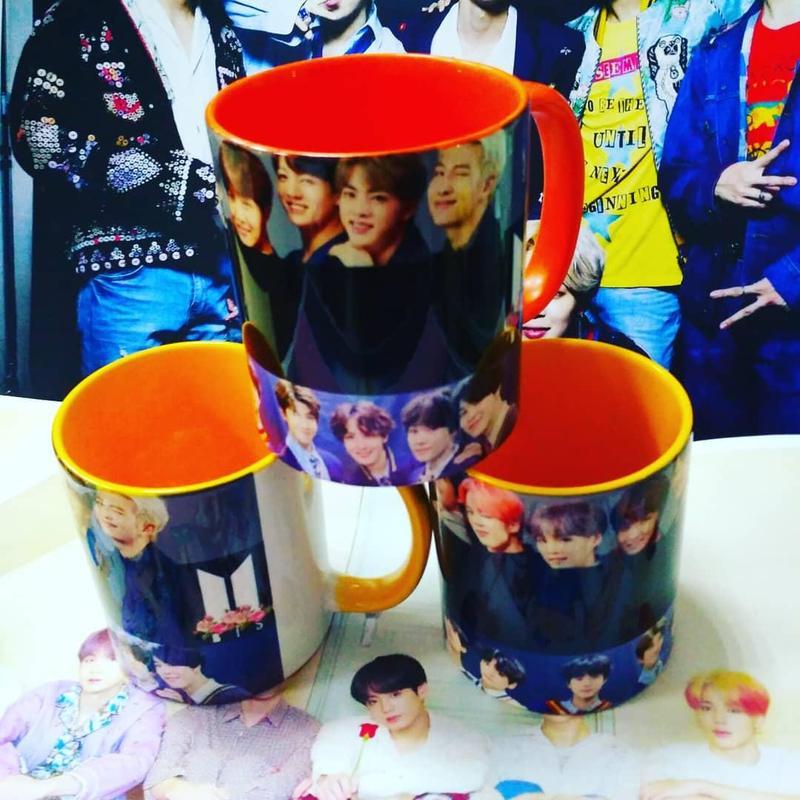 Кружка Bts чашка для чая или кофе
