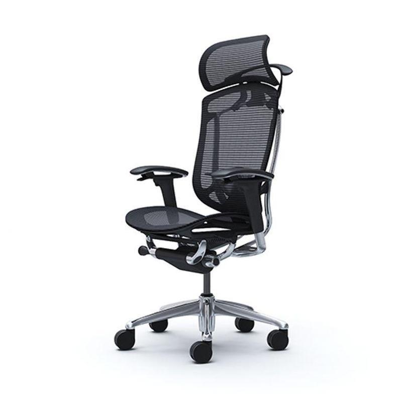 Кресло офисное OKAMURA CONTESSA 2 SEKONDA  Полированая рама