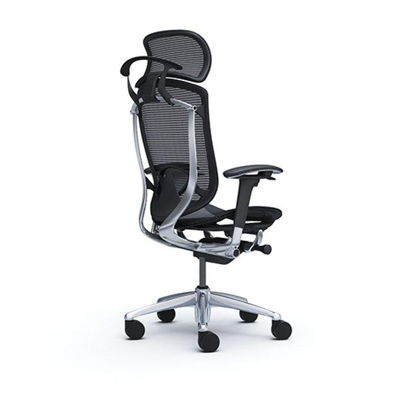 Кресло офисное OKAMURA CONTESSA 2 SEKONDA  Полированая рама - Фото 2