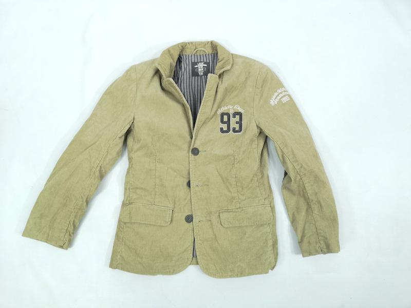 Пиджак для мальчика, вельветовый H&M; Logg, Разм 146 см (10-12...