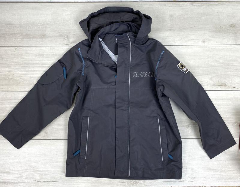 Куртка ветровка детская, MyWear, Разм 134 см (5-6 лет), Отл сост