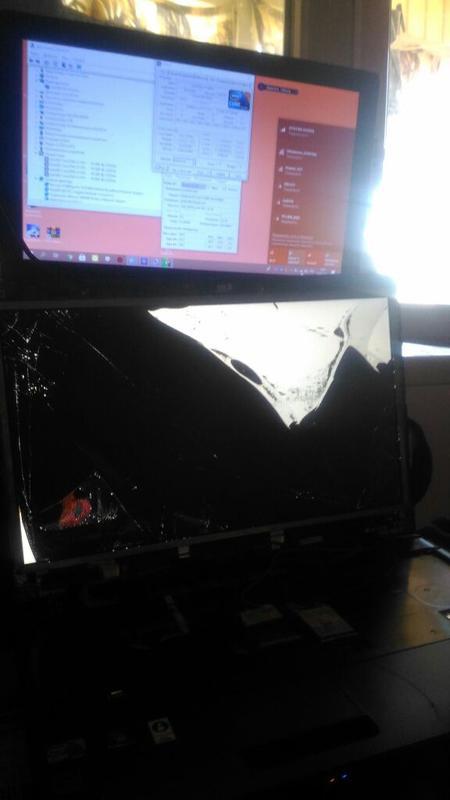 Ноутбук Toshiba tecra a11 (сДЕФЕКТАМИ) intel і3 3джи модем сим...