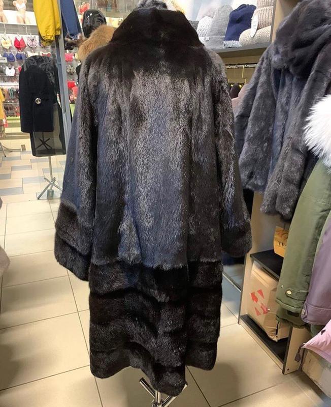 Шуба норковая 54 56 размер шуба из норки - Фото 5