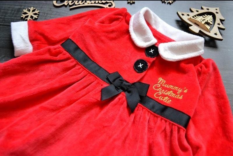 Офигенное велюровое платье - Фото 2