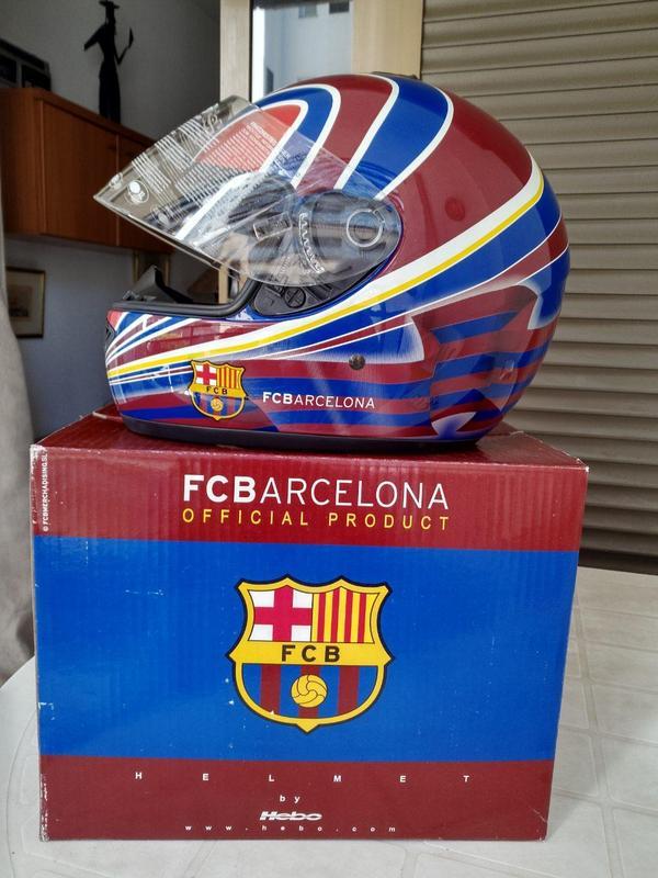Мотошлем  FCBarcelona