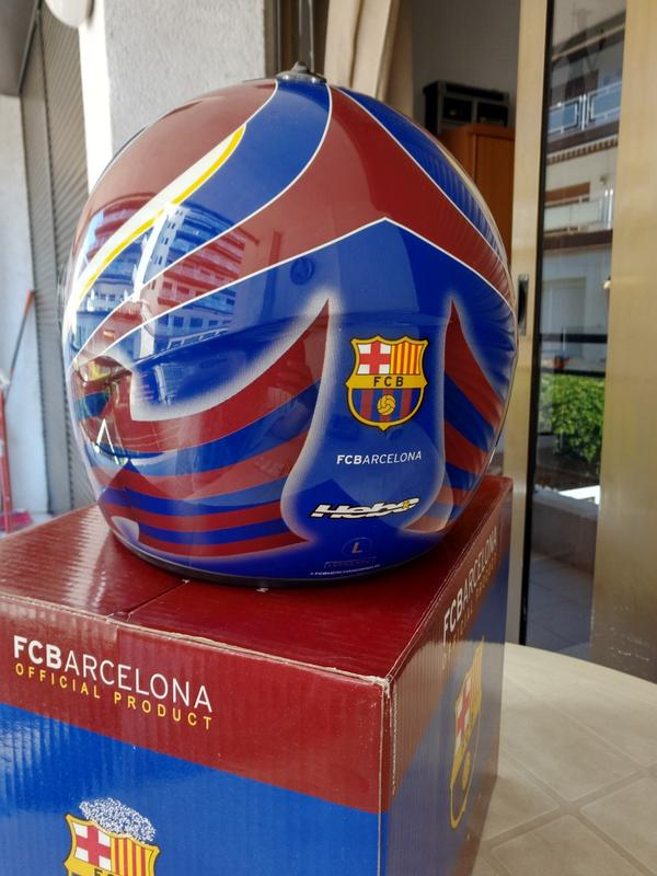 Мотошлем  FCBarcelona - Фото 5