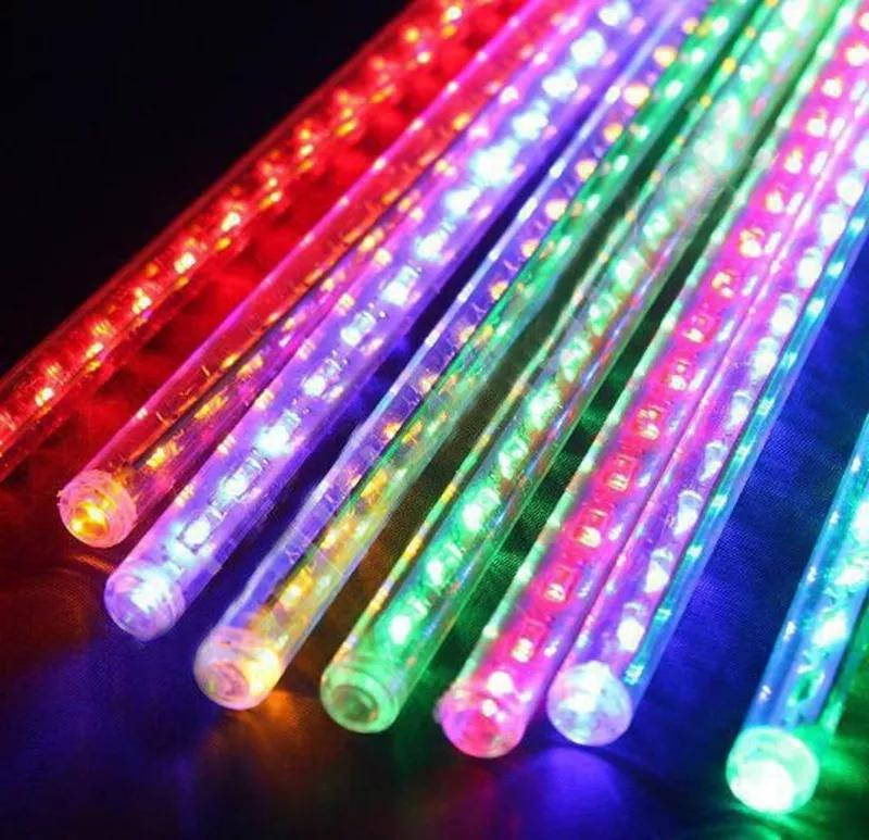Гирлянда Сосулька LED 3м.*30-50-80см, 8шт, метеорит, уличная - Фото 3