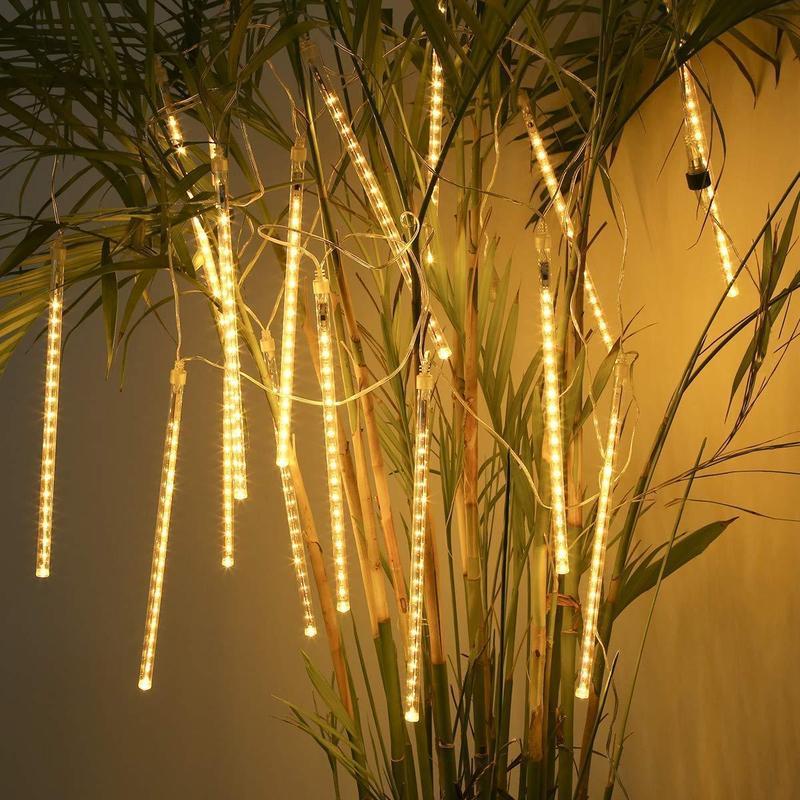 Гирлянда Сосулька LED 3м.*30-50-80см, 8шт, метеорит, уличная - Фото 2