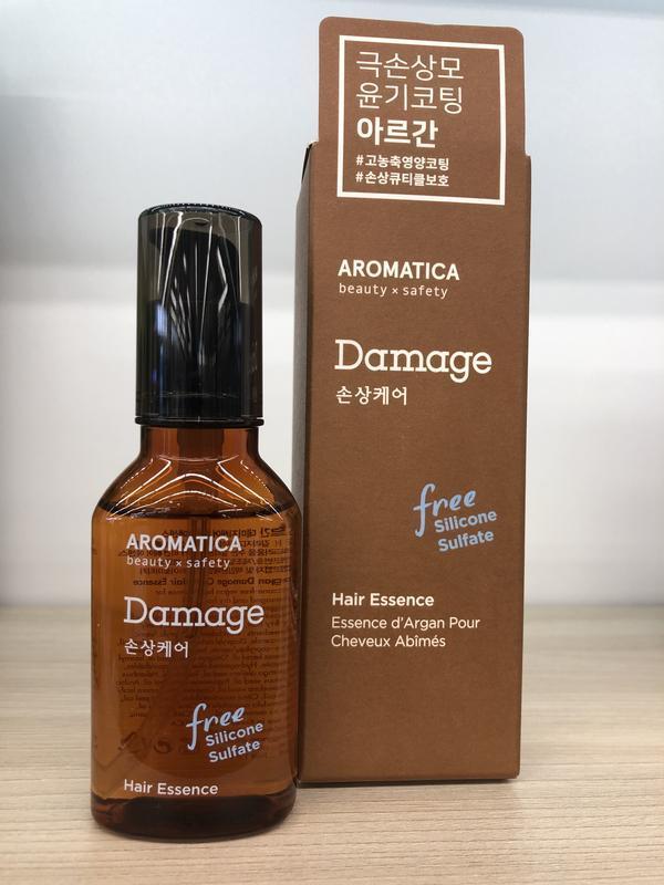 Эссенция для поврежденных волос с маслом арганы - Фото 2