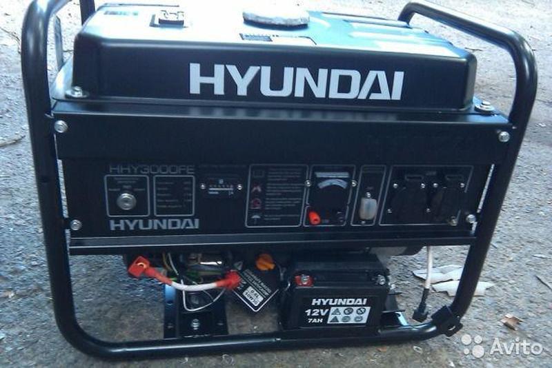 бензогенератор фирменный HYUNDAI HHY 3000F