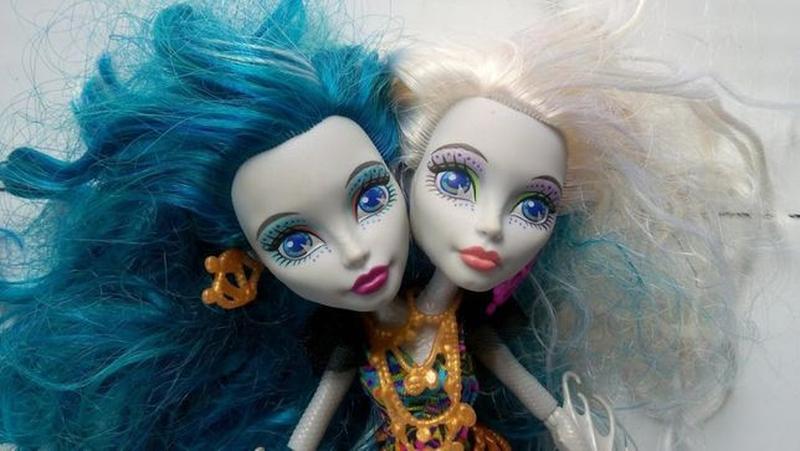 Кукла Монстр Хай Маттел mattel Пери и Перл двухголовая Monster... - Фото 2