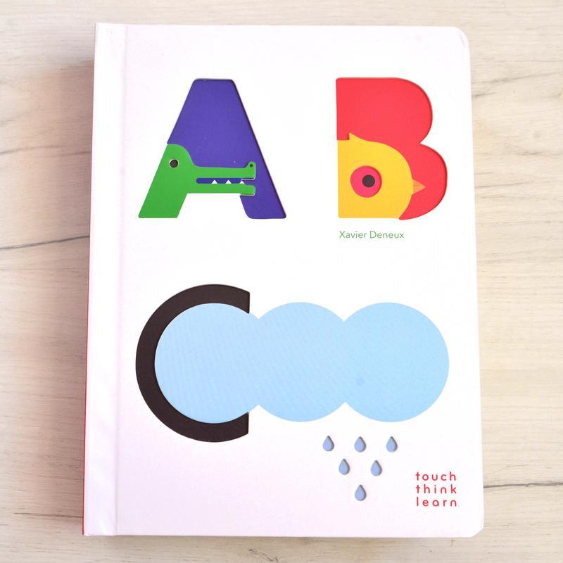 ABC. Детская книга для изучения английского алфавита.