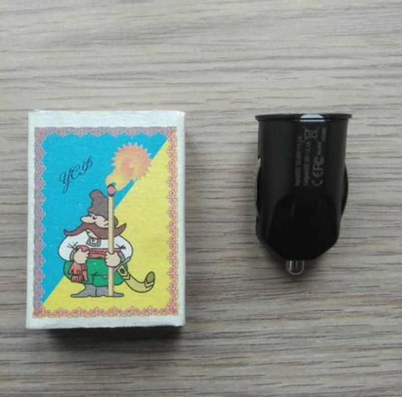 Миниатюрное автомобильное зарядное устройство с 2 портами - Фото 7