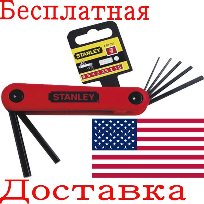 Набор складных шестигранных ключей Stanley 4-69-261