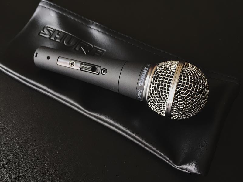 Микрофон SHURE SM58S