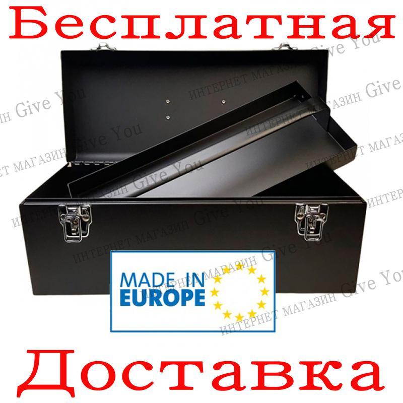 Раскладной ящик для инструмента YATO 428х180х180 мм (YT-0883)