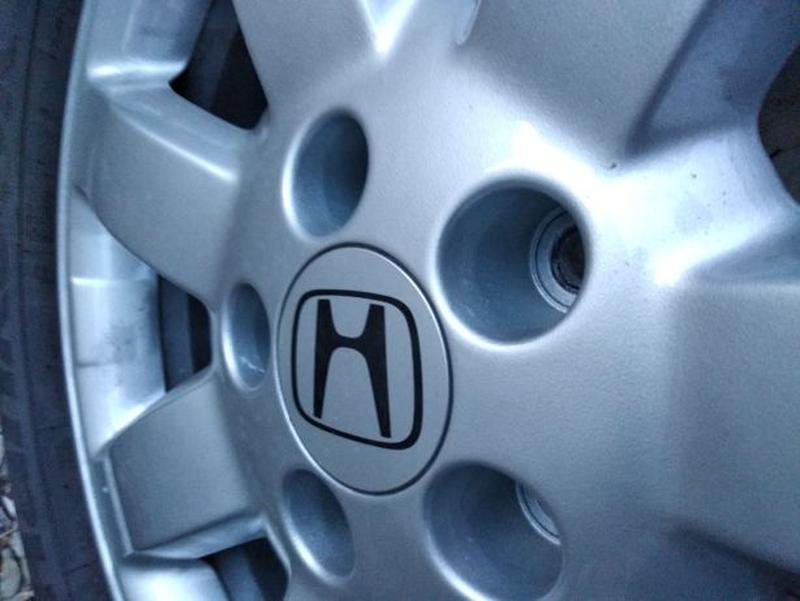 """Продам диски Honda R17"""" Оригинал с резиной как новые - Фото 3"""