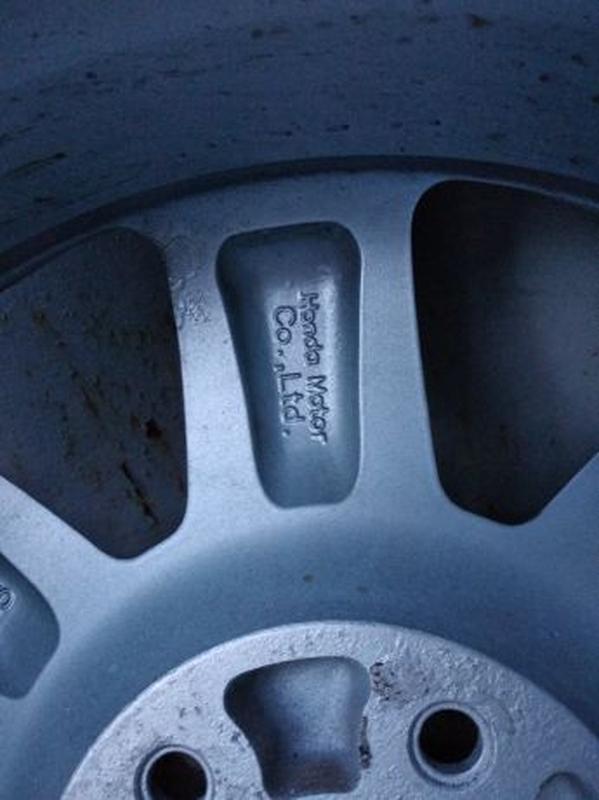 """Продам диски Honda R17"""" Оригинал с резиной как новые - Фото 5"""