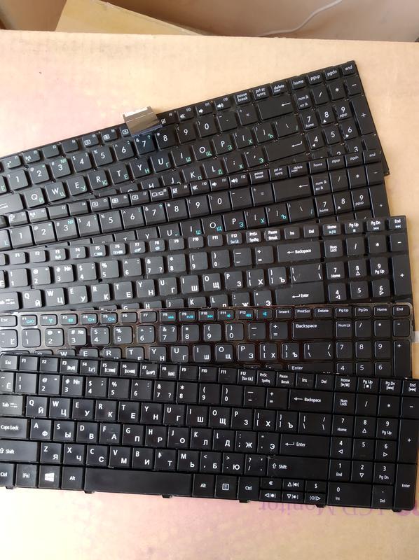 Клавиатура для ноутбука (НЕисправные) 5 шт одним лотом