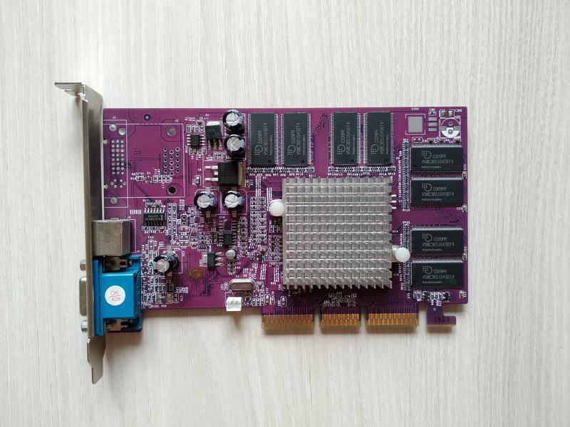 Видеокарта AGP Palit GeForce 4 MX440 64MB