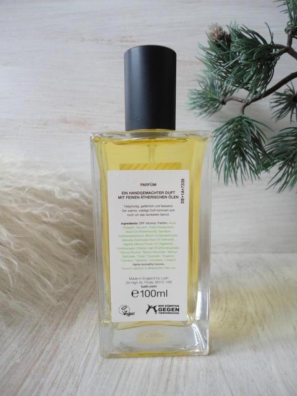 Натуральный парфюм lush smuggler's soul,100 мл, британский veg... - Фото 2