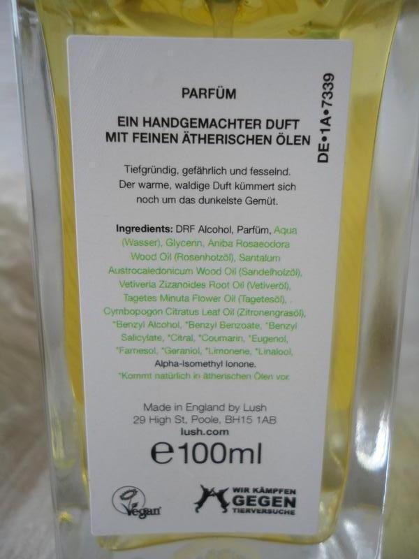 Натуральный парфюм lush smuggler's soul,100 мл, британский veg... - Фото 3
