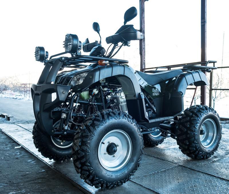 Квадроцикл SPARK SP 250-4 камуфляж