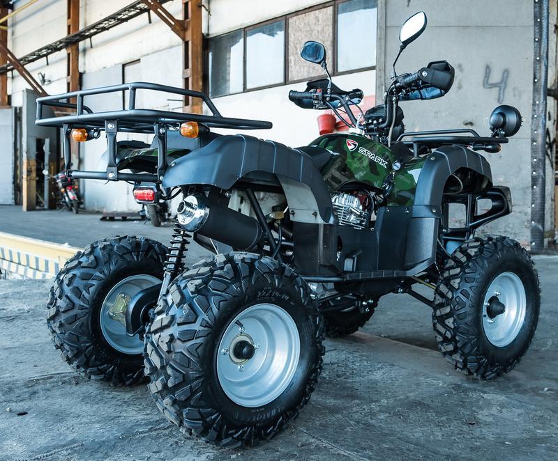 Квадроцикл SPARK SP 250-4 камуфляж - Фото 2