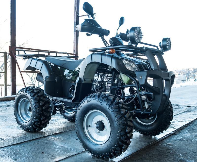 Квадроцикл SPARK SP 250-4 камуфляж - Фото 3