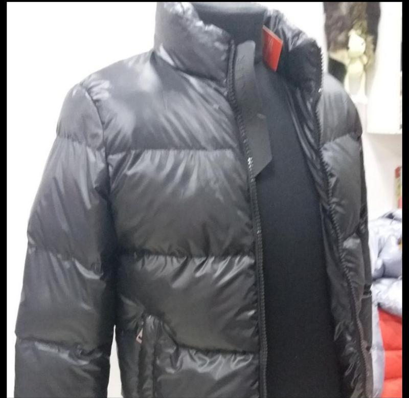 Мужская теплая куртка. пуховик мужской  moncler - Фото 2