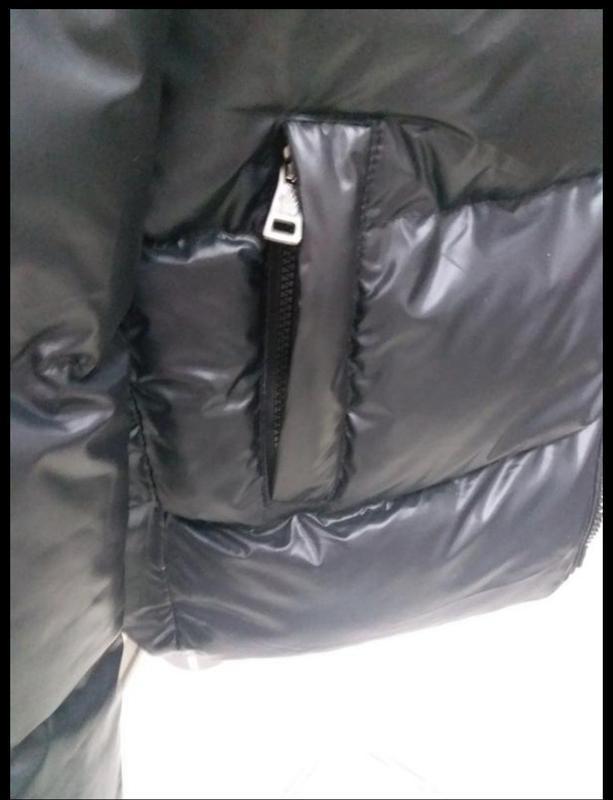 Мужская теплая куртка. пуховик мужской  moncler - Фото 3