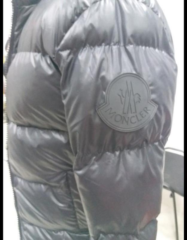 Мужская теплая куртка. пуховик мужской  moncler - Фото 5