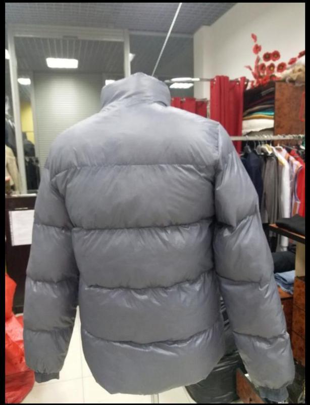 Мужская теплая куртка. пуховик мужской  moncler - Фото 7
