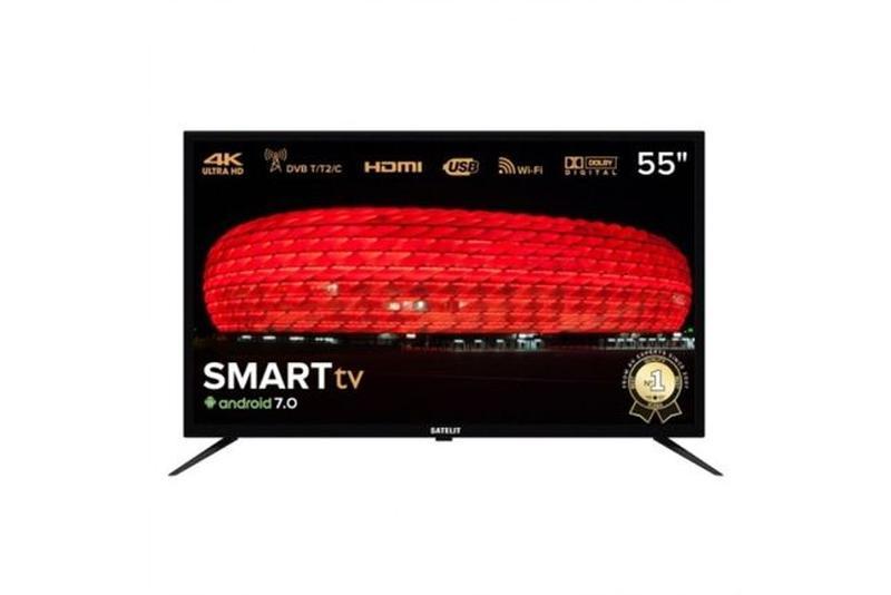 Смарт тв 55 дюймов Smart .4k.wi-fi Телевизор Satelit 55U9000ST - Фото 6