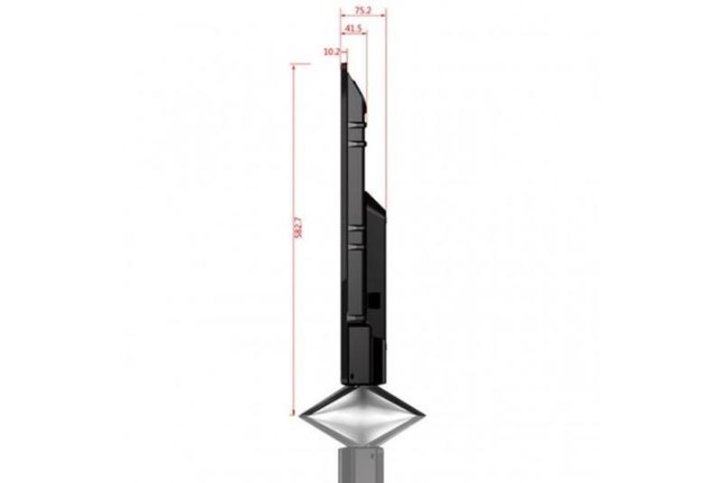 Смарт тв 55 дюймов Smart .4k.wi-fi Телевизор Satelit 55U9000ST - Фото 7