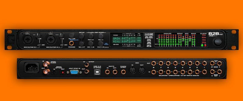 Аудиоинтерфейс\звуковая карта MOTU 828 usb