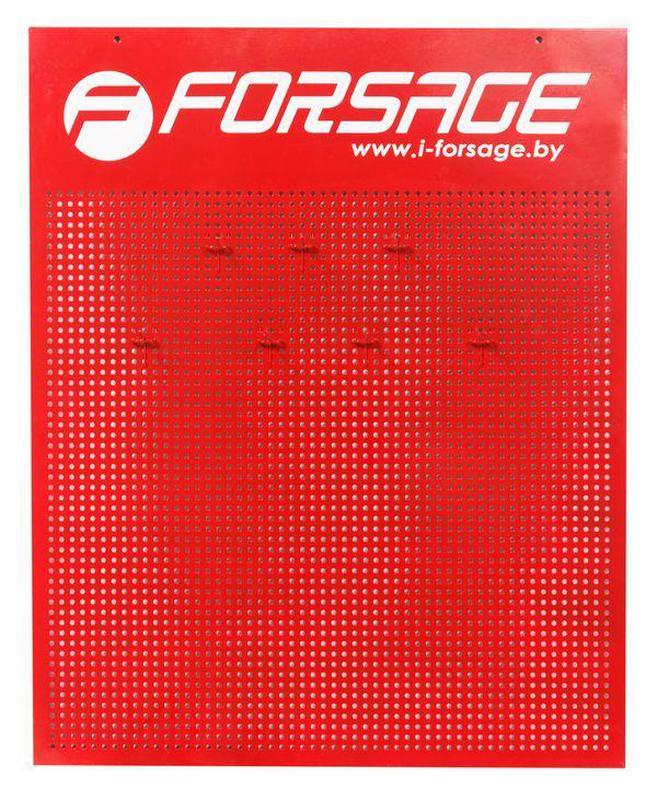 Стенд демонстрационный (725*900*14)+ 30 крючков Forsage F-TY99901