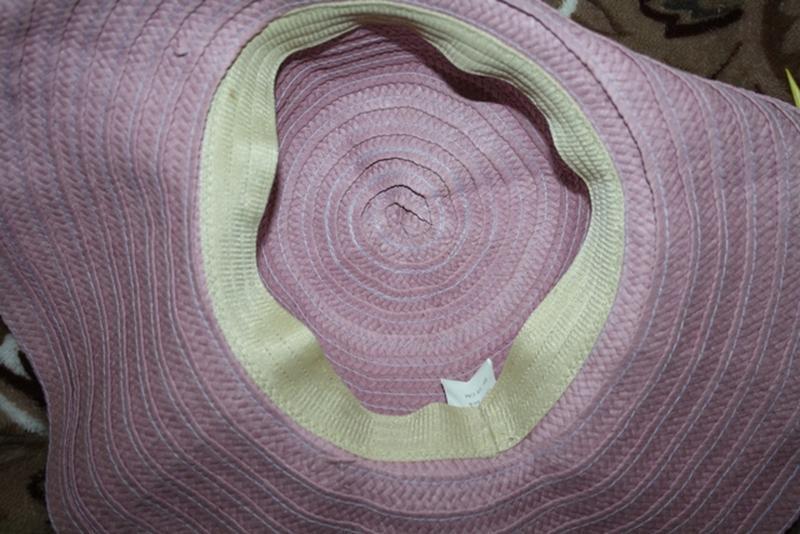 Красивая шляпа с полями 58 см - Фото 3