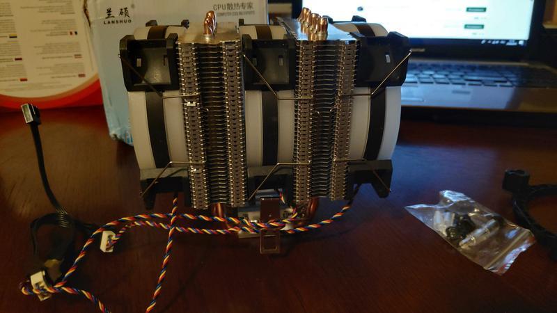 Радіатор з кулерами для процесора ПК