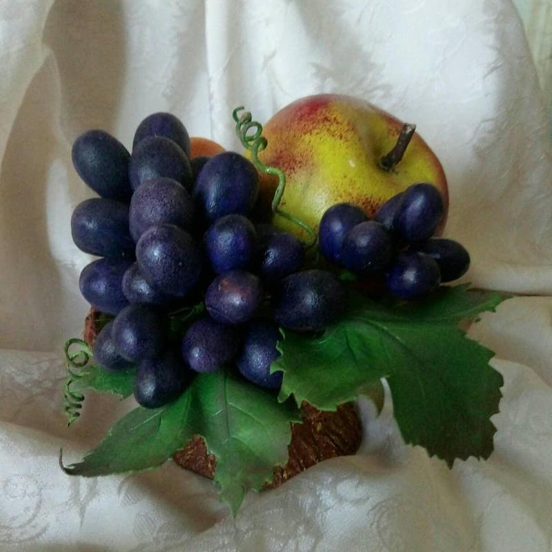 Интерьерная композиция, ваза(фрукты) - Фото 8