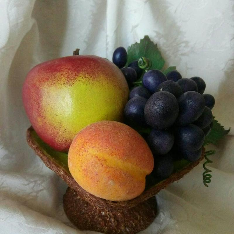 Интерьерная композиция, ваза(фрукты) - Фото 3