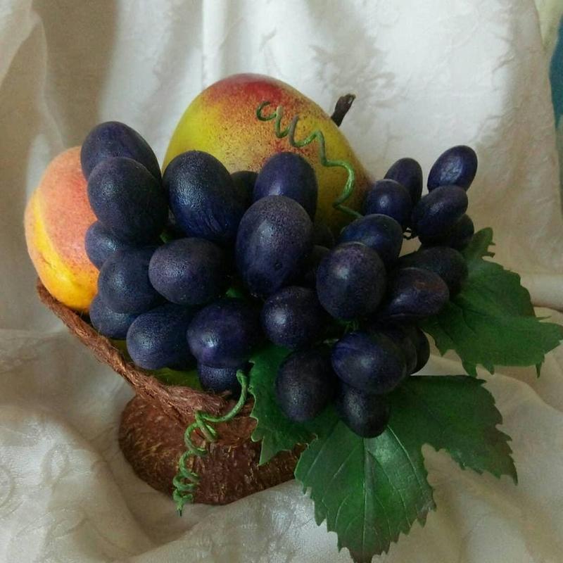 Интерьерная композиция, ваза(фрукты) - Фото 2