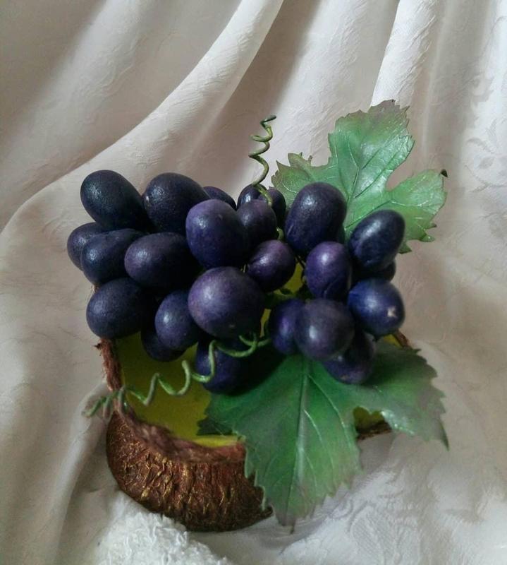 Интерьерная композиция, ваза(фрукты) - Фото 4