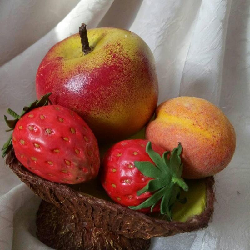 Интерьерная композиция, ваза(фрукты) - Фото 5